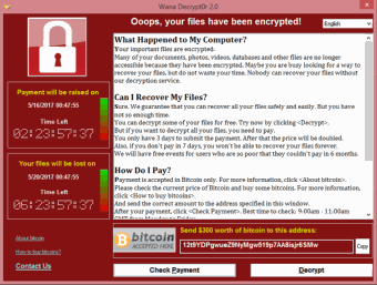 Does the latest malware make you WannaCry?