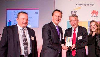 Probrand and Mercato celebrate Civil Service Awards 2013 with PM David Cameron