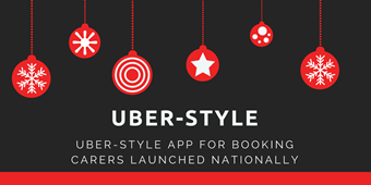 Uber-style app for booking carers launched nationally