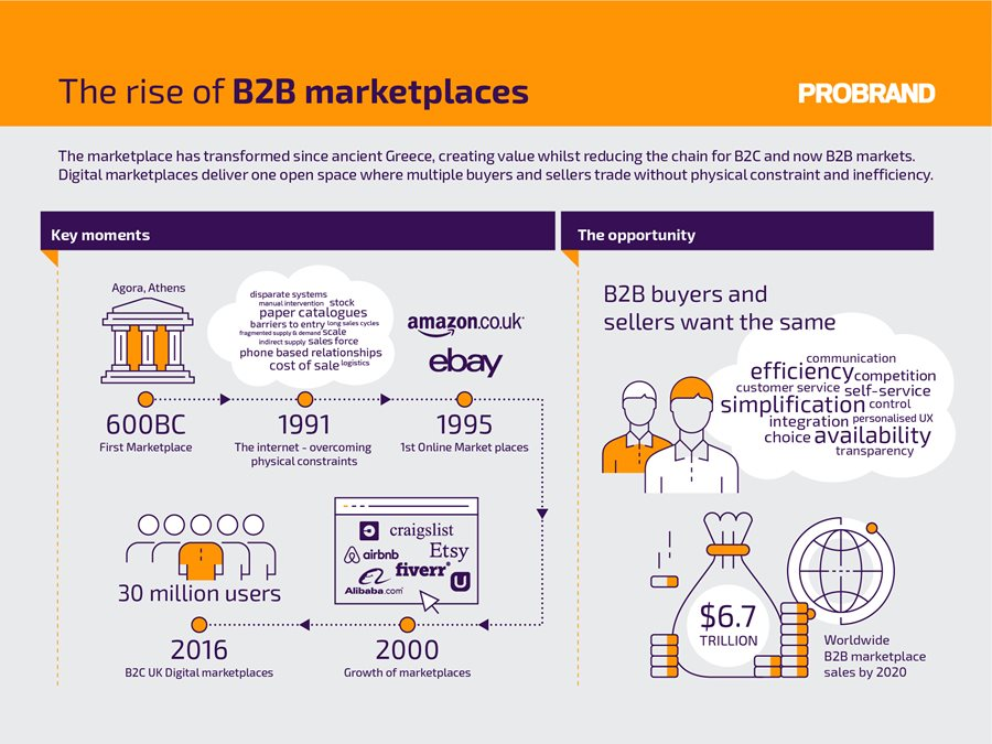 The Rise of B2B marketplaces | Probrand